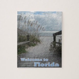 Florida Beach Path Puzzle