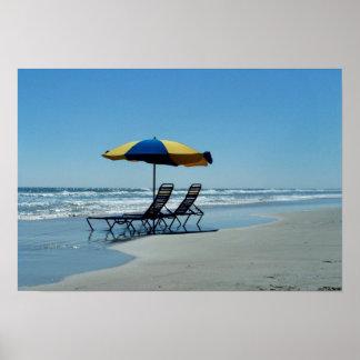 Florida Beach Photography Poster