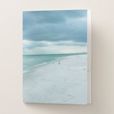 Florida Beach Pocket Folder