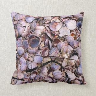 Florida Beach Shells Pillow