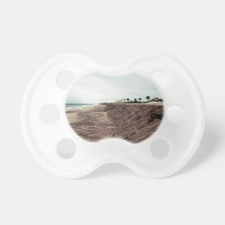 Florida beach south empty before storm vintage BooginHead pacifier