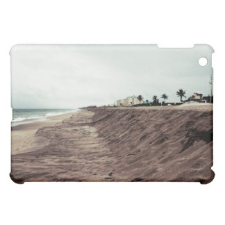 Florida beach south empty before storm vintage case for the iPad mini