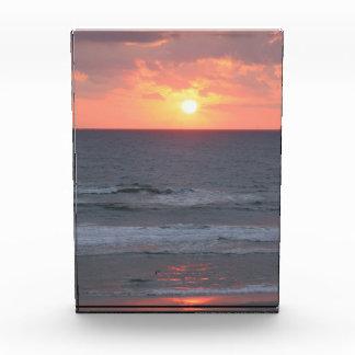 Florida Beach Sunrise Acrylic Photo Award