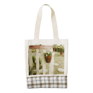 Florida Beach Theme Made With Love Zazzle HEART Tote Bag