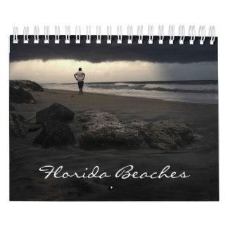 Florida Beaches Photography Calender Calendar