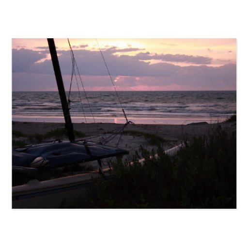 Florida Beaches Postcard