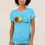Florida Beaches Sunset T Shirt
