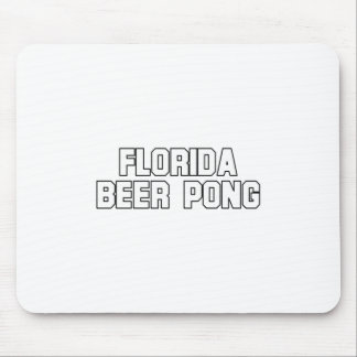 Florida Beer Pong Mouse Pads