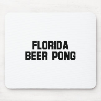 Florida Beer Pong Mouse Pad
