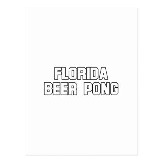 Florida Beer Pong Post Cards