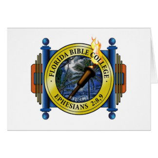 Florida Bible College Logo Card