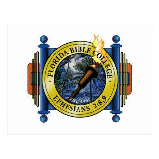 Florida Bible College Logo Postcard