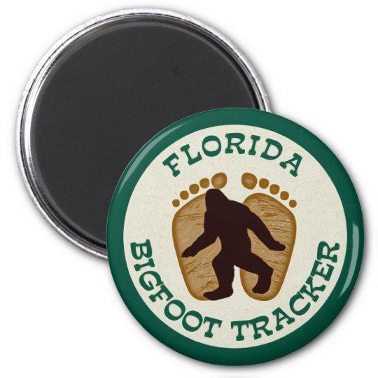 Florida Bigfoot Tracker Magnet