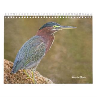 Florida Birds Calendar