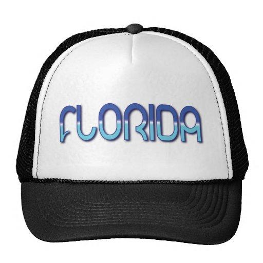 Florida - Blue Gradient Trucker Hat