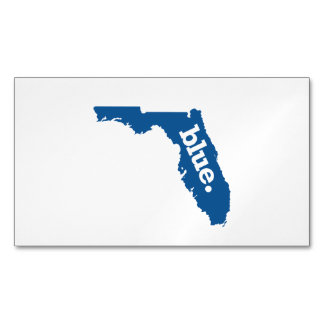 FLORIDA BLUE STATE BUSINESS CARD MAGNET