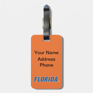 Florida - Blue & White Tag For Luggage