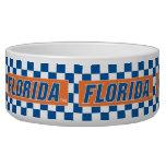 Florida - Blue & White Pet Water Bowl