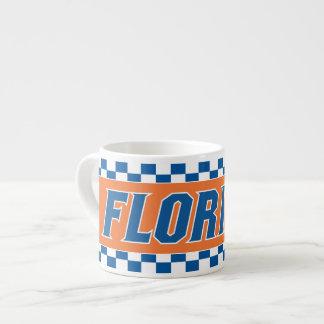 Florida - Blue & White Espresso Cup