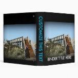 Florida boardwalk, Cape San Blas Gulf Coast Vinyl Binder