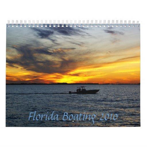 Florida Boating Wall Calendars
