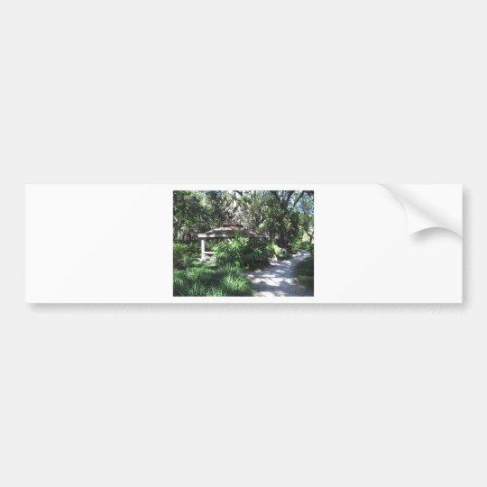 Florida Botanical Garden Bumper Sticker