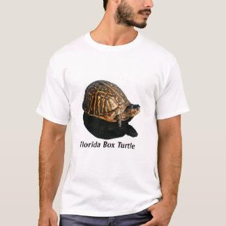 Florida Box turtle Photograph w Text T-Shirt
