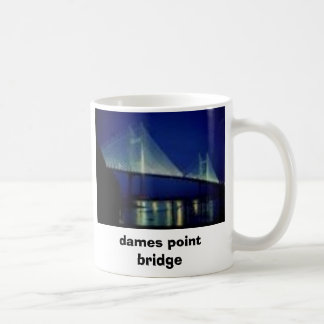 florida bridge, J VILLE, dames point bridge, JA... Coffee Mug