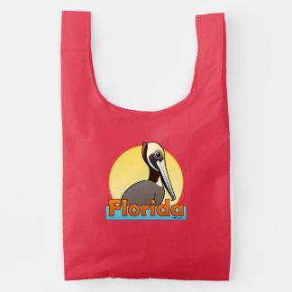 Florida Brown Pelican (sunrise) Reusable Bag