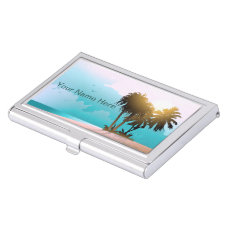 Florida Business Card Holder