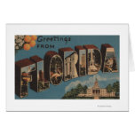 Florida (Capital Building) - Large Letter Greeting Card