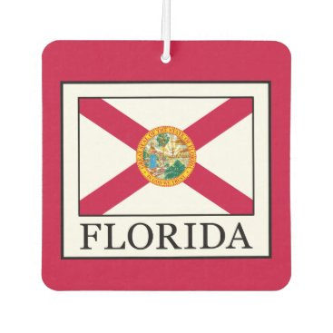 Beach Themed Florida Car Air Freshener