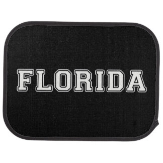 Florida Car Floor Mat