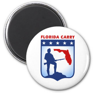 Florida Carry Gear 2 Inch Round Magnet