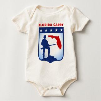 Florida Carry Gear Baby Bodysuit