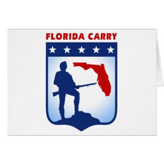 Florida Carry Gear Greeting Card