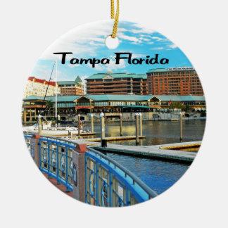 Florida Ceramic Ornament