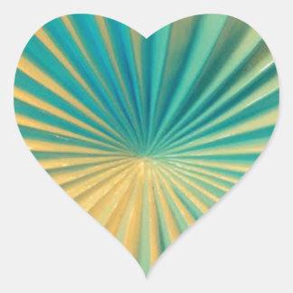 Florida ceramik heart sticker