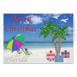 Florida Christmas Cards Beach Themed