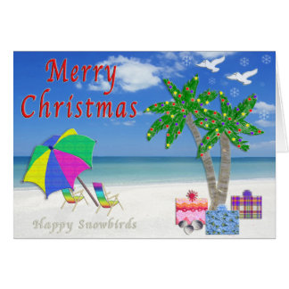Florida Christmas Cards from Two Happy Snowbirds