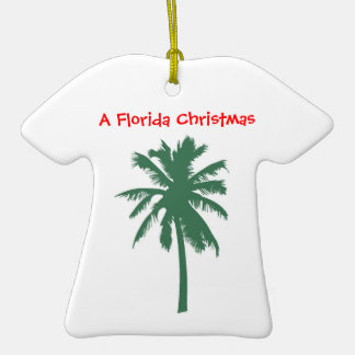 Florida Christmas, Palm Tree ornament