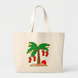 Florida Christmas Tree Tote Bag