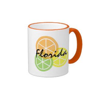 Florida Citrus OrangeLimeLemon Coffee Mug