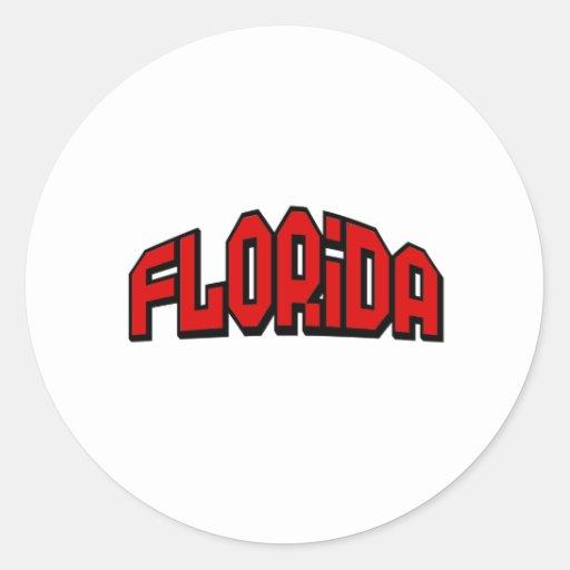 Florida Classic Round Sticker
