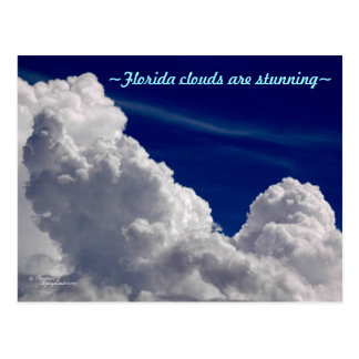 Florida clouds are stunning Postcard