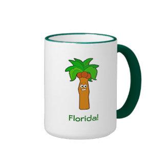 Florida Coconut Palm Tree Dude Mug