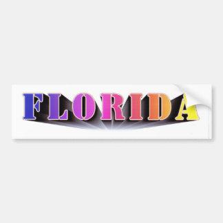 Florida Colors Bumper Sticker