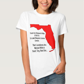 Florida Concealed Weapons License Owners Shirt