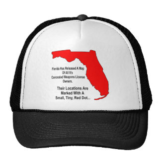 Florida Concealed Weapons License Owners Trucker Hat