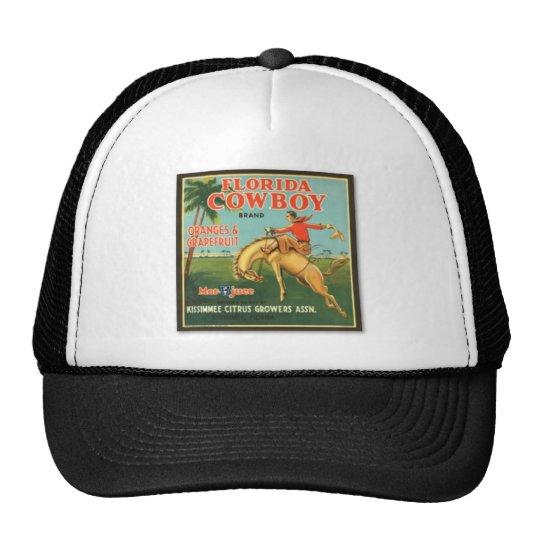 Florida Cowboy Brand Trucker Hat